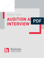 Berklee Insider's Guide - Audition and Interview (2) (1)