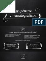 PPT géneros cinematográficos