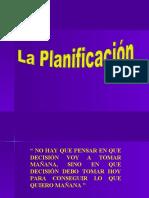 . LA PLANIFICACIÓN.