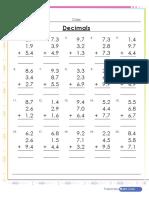 addition-of-3-decimals-worksheet
