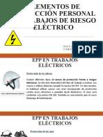 ELEMENTOS DE PROTECCIÓN PERSONAL EN TRABAJOS ELECTRICOS