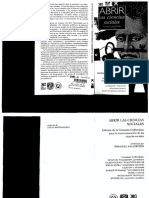Wallerstein, Immanuel (1997), Abrir las ciencias sociales, México, Siglo XXI.pdf