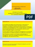 2020 Titulación Opciones y Elaboración de Un Tpt Jmgs