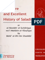 The Rare and Excellent History of Saladin-by Baha al-Din Ibn Shaddad.pdf