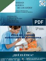 Ética del cuidado humanizado en enfermeria