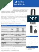Donaldson-LPG-Filter-Data-Sheet