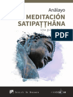 MEDITACION SATIUPATHANA ANALAYO