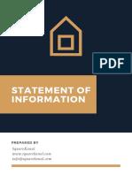 Statement of Information - SquareKanal - Property RajBagh