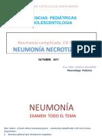 Neumonia necrotizante