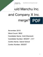 merger a