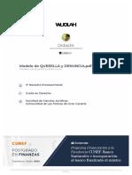 wuolah-free-Modelo de QUERELLA y DENUNCIA