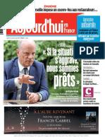Aujourd hui en France du Jeudi 27 Août 2020