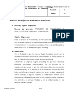 Propuesta de Reingenieria e Introducción de un Manual de Procesos