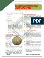 SESIÓN N° 03 LA CIVILIZACIÓN AZTECA 2° SEC
