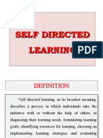 14. Self directed learning
