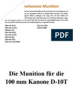 Panzerkanone Munition