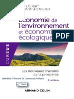 Economie de l''environnement et economie ecologique - 2ed. - PDFDrive.com - livres economie & livres mdd