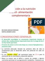 6-INTRODUCCION A LA NUTRICION INFANTIL