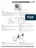 T6634-TE21_22 Thermostat Installation Instructions_R1