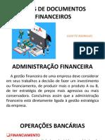 TIPOS DE DOCUMENTOS FINANCEIROS