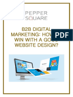 B2B Digital Marketing How to Win With a Good Website Design