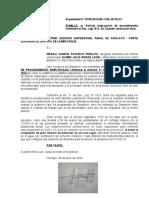 SOLICITA ADECUACIÓN DE TRAMITE CONFORME AL DEC. LEG. 1513