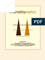 Transiti Poetici Vol XVI