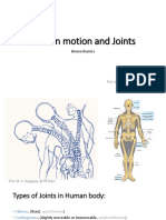 3Lecture slides on Joint and motion