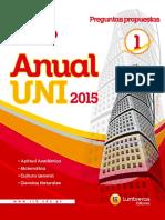 Problemas Propuestos de Razonamiento Matematico VALLEJO-2015 Ccesa007