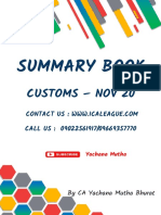 Customs-Summary-book-Nov-20-By-CA-Yachana-Mutha-Bhurat