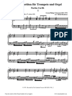 [Clarinet Institute] Telemann Partita 1 for Trumpet and Organ (keyboard).pdf