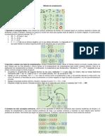 División Binaria y Algoritmo