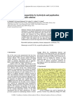 183. Synthesis of TiO2 nanoparticles by hydrolysis and peptization of titanium isopropoxide solution