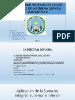 integral definida Areas y volumes