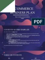 E-Commerce Business Plan By Slidesgo