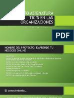 PROYECTO ASIGNATURA TIC'S EN LAS ORGANIZACIONES I (5)
