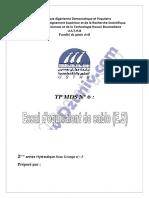 TP MDS - Essai équivalence de sable  - TP6 + compte rendu  - Mécanique des Soles 6287.pdf