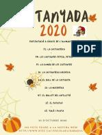 CASTANYADA 2020