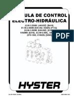 Valvula de Control (Electro-Hidráulica)