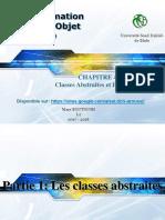 Chapitre4-Classes Abstraites Interfaces