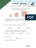 Matematica 7ano Teste Nov2019