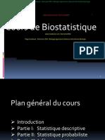 Cours de Biostatistique