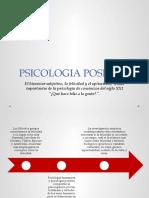 PSICOLOGIA POSITIVA  2016
