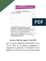 Decreto 1860 de Agosto 3 de 1994