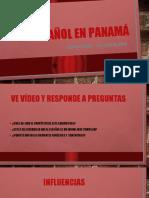 EL ESPAÑOL EN PANAMÁ 10