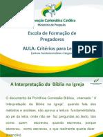 Ministério de Pregação Critérios para Ler a Bíblia [Reparado]