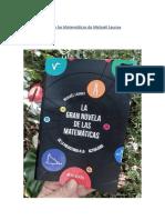 La Gran Novela de las Matemáticas de Mickaël Launay