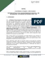EDITAL 004-2019 P.E. Profissionais e-Cidade-SRP