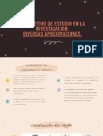 ACTIVIDAD  14   LA CONSTRUCCIÓN DEL OBJETO DE ESTUDIO