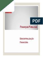 5. Descentralização financeira(1)